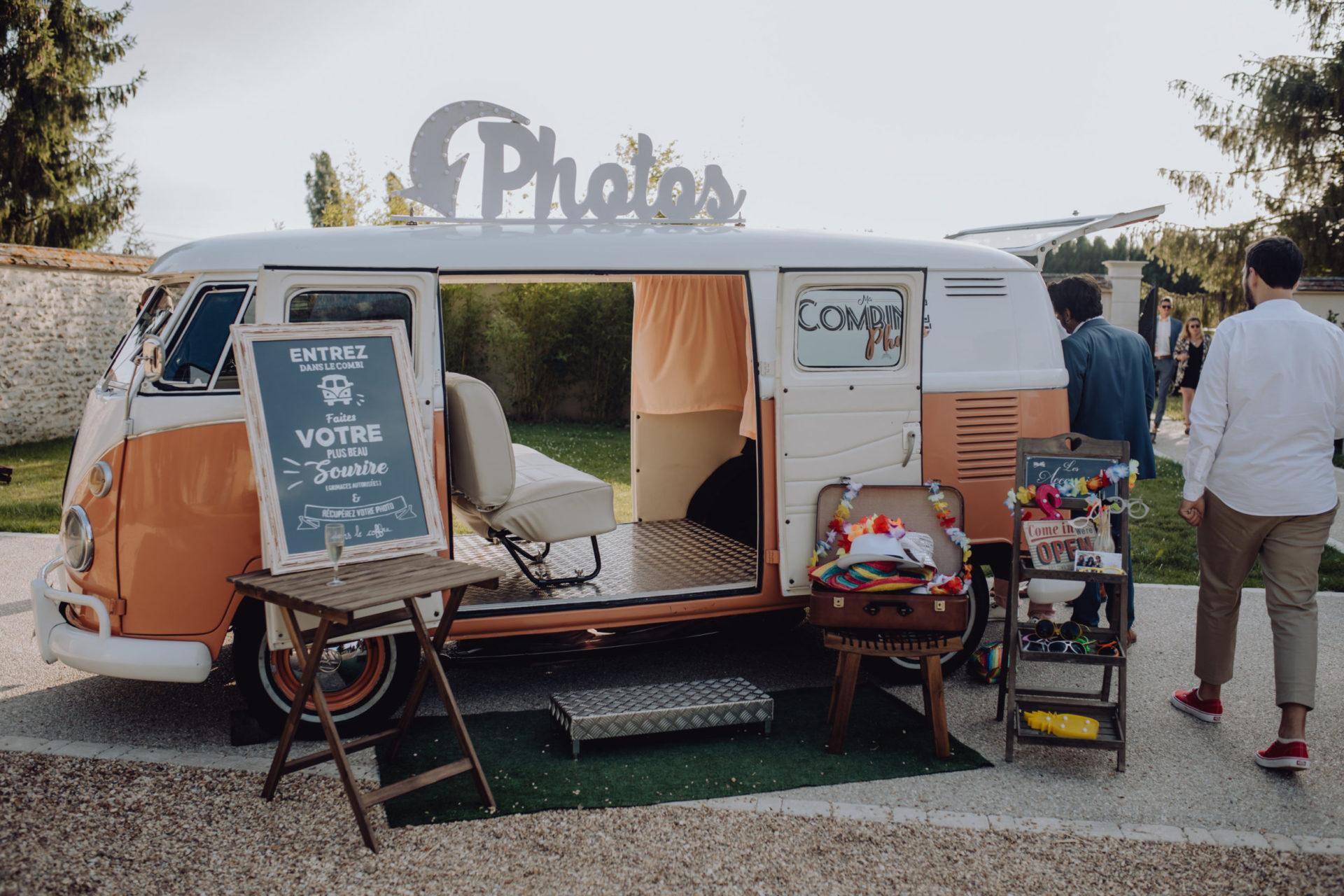 Photo Booth à La Thibaudière par Alexandra Maldémé