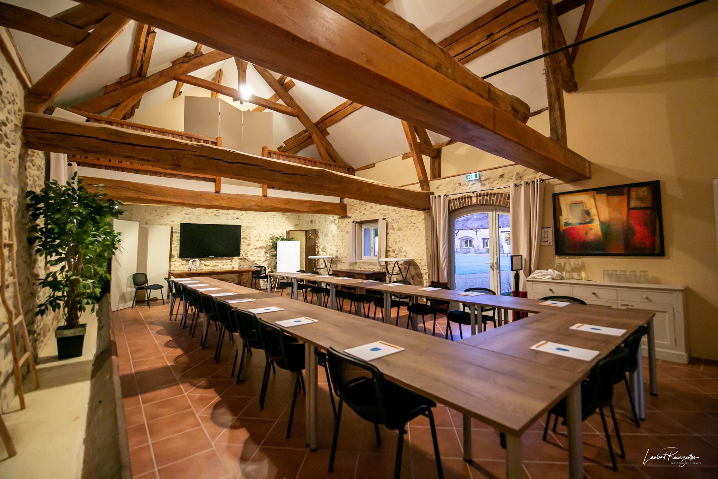 Salle Beaudeval en U réunion séminaire La Thibaudière par Clapinstant