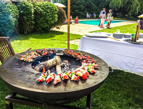 Barbecue à la Thibaudière