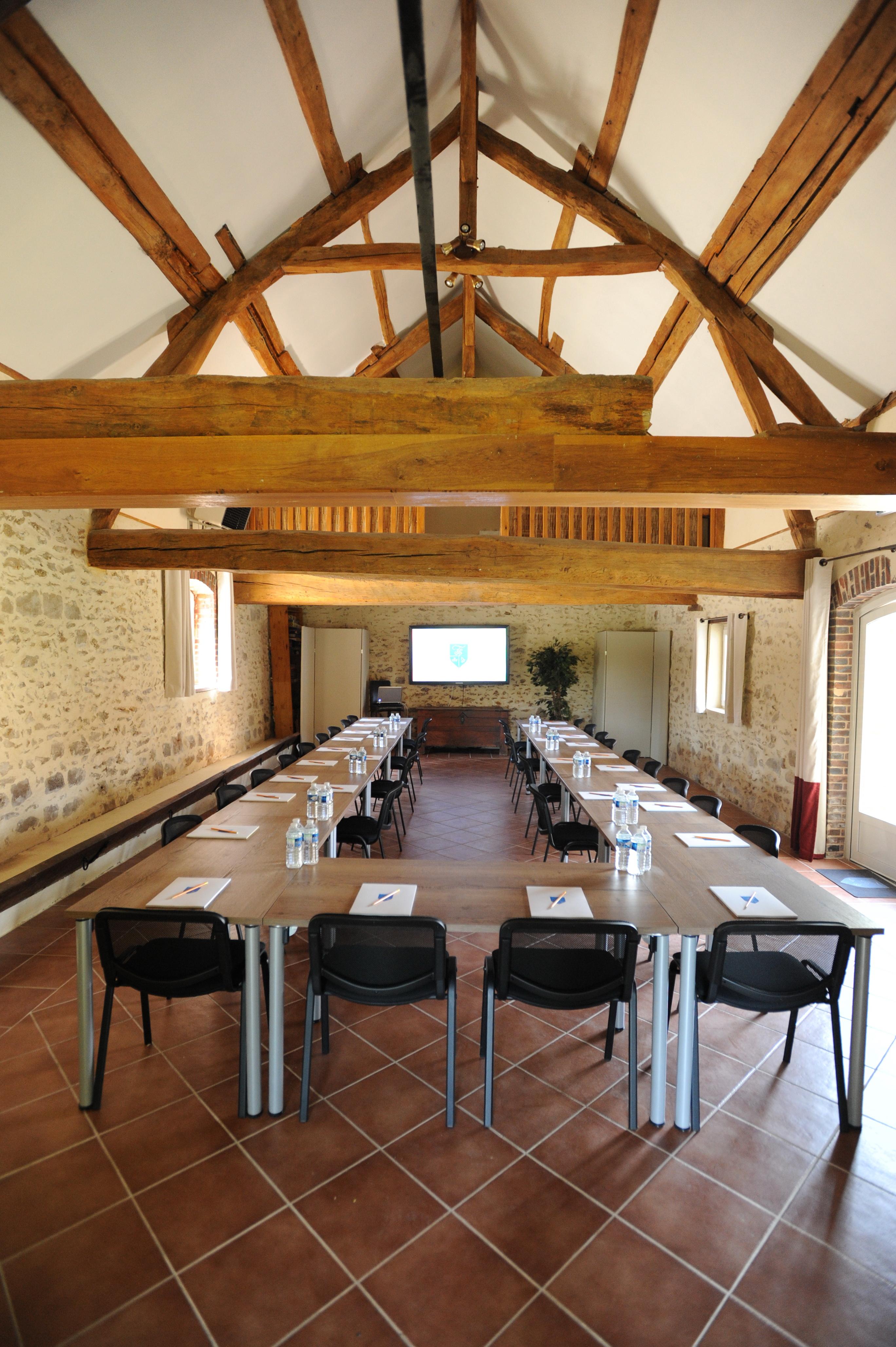 Salle Beaudeval en U séminaire réunion La Thibaudière
