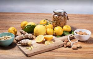 Plateau citrons amandes