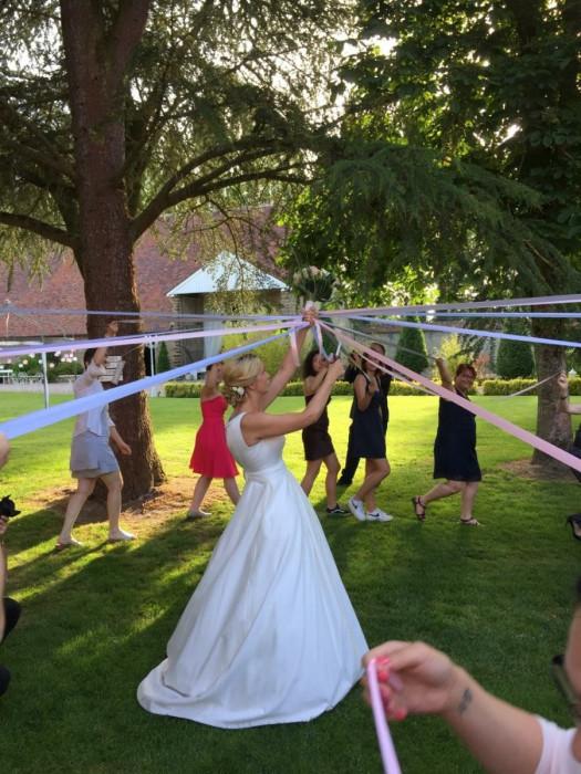 Mariée mariage activité Vaujoly