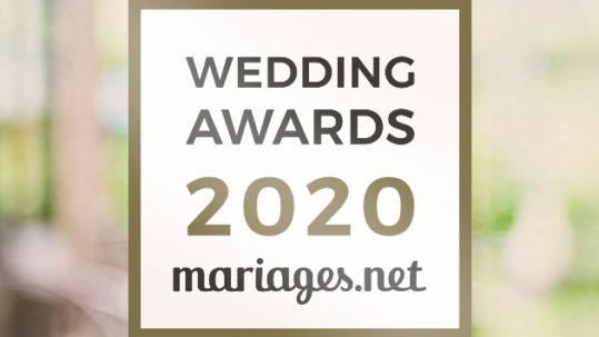Vignette mariages.net Wedding awards 2020